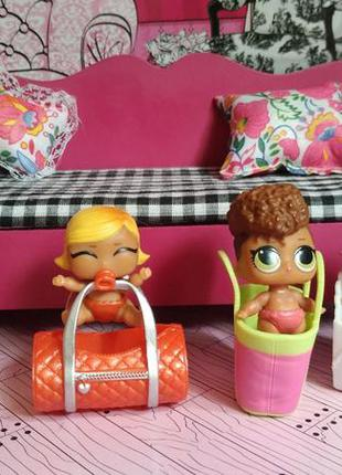 Набор куколок кукла лол lol surprise сестрички