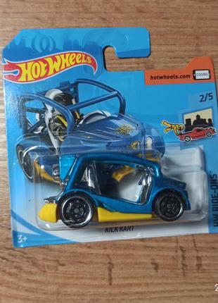 Колекционная машинка хот вилс hot wheels kick kart
