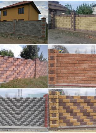 Декоративные Блоки под Рваный Камень,Тротуарная Плитка 4-6-8 см.