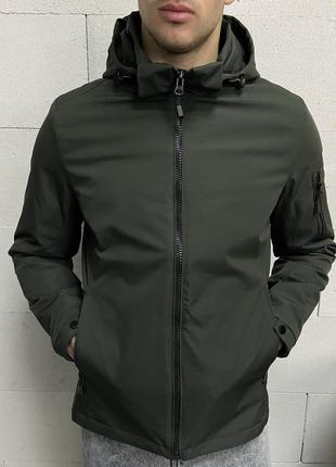 Куртка мужская хаки турция / курточка чоловіча ветровка вітров...
