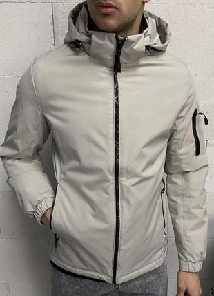 Куртка мужская серая турция / курточка чоловіча ветровка вітро...