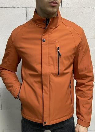 Куртка мужская оранжевая турция / курточка чоловіча ветровка в...