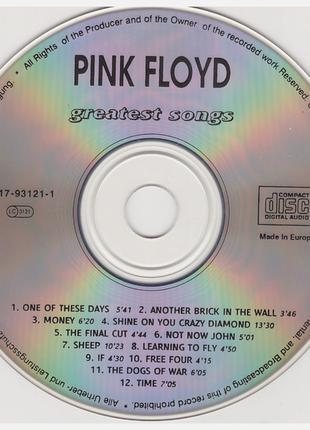 CD Pink Floyd - Greatest Songs