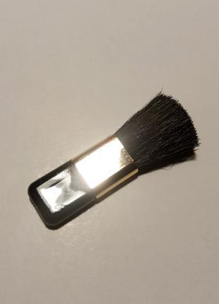 Міні пензлик з ворсом для макіяжу