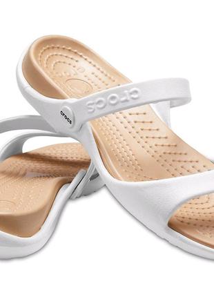 Оригинальные новые женские сандалии Crocs Cleo w10