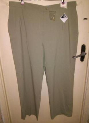 """Новые,с бирками,стрейч,""""оливковые"""" классика-повседные брюки с ..."""