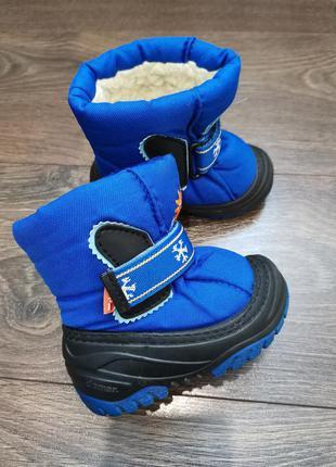 Ботинки сноубутсы зимние детские demar