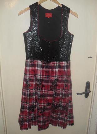 Оригинальное платье-сарафон