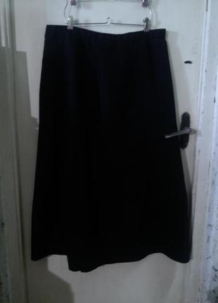 Элегантная,чёрная юбка,большого размера