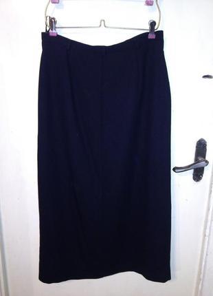 Элегантная, длинная юбка-карандаш, с карманами, modern classic