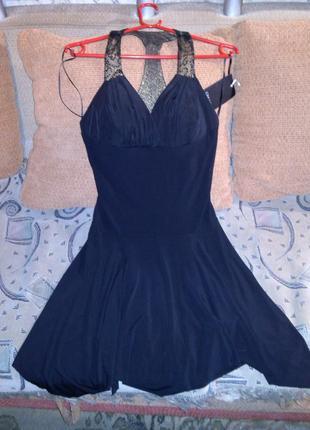 Новое с биркой,экстравагантное ,асимметричное платье-бюстье,38...