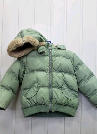 Куртка для мальчика теплая 2 года