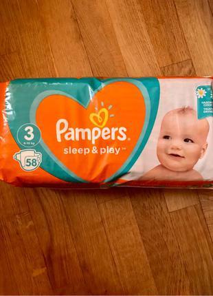 Памперси Pampers 3-ка