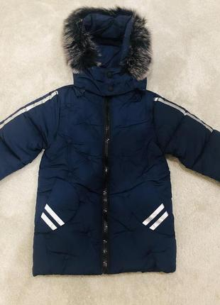 Куртка на мальчика сезон-зима очень хорошего качества
