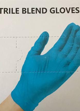 Одноразові рукавички по 100 шт/уп вінілові. Нітрилові