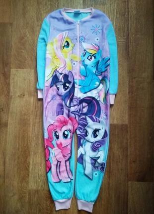 Пижама слип  кигуруми человечек my little pony