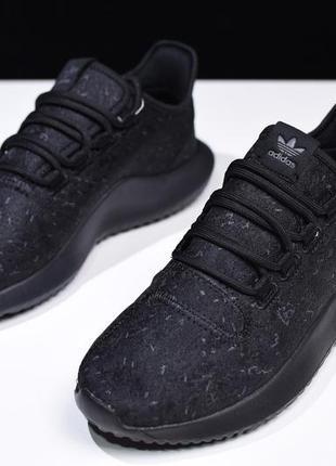 "Кроссовки adidas tubular shadow ""triple black"" 41-42р."