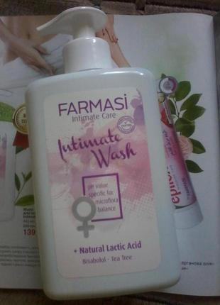 Мыло для интимной гигиены, 445мл, farmasi