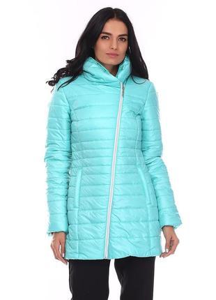 Куртка new mark, 50 размер, демисезон, цвет мятный