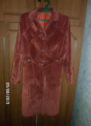 Пальто женское, размер 48