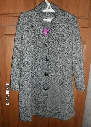Женское пальто, сезон весна-осень, размер 48