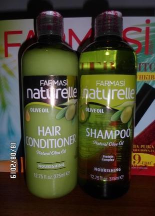Набор для волос шампунь и кондицыонер, 375 мл