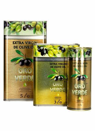 Оливковое масло Оро верде 3л