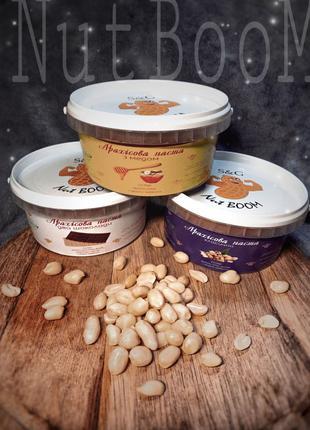 Арахисовая паста Nut BOOM 500 гр. 100% натуральный продукт