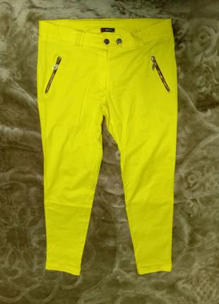 Штаны жёлтые женские