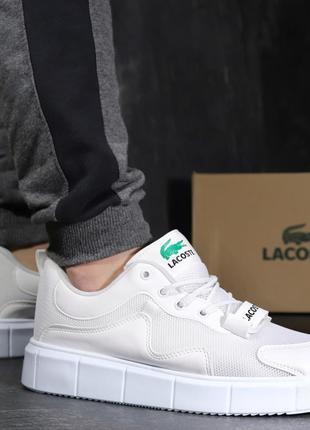 Кроссовки Lacoste White