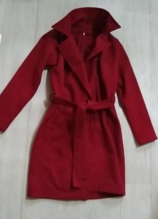 Пальто халат кашемировое
