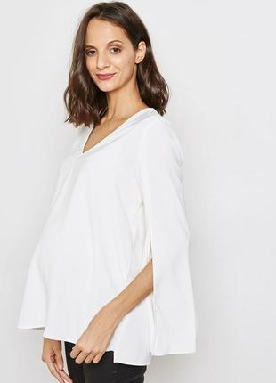 Блузка для беременных свободного кроя topshop