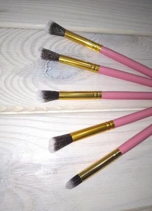 5 шт кисти для макияжа набор rose/gold probeauty