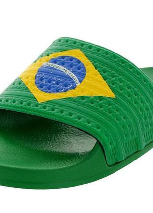 Новые мужские шлепанцы сланцы adidas adilette flags 42 италия