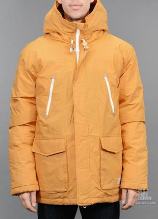 Супер пуховик adidas originals long down jacket - xl