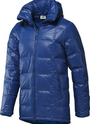 Куртка пальто пуховик adidas sc longer down jacket s-m