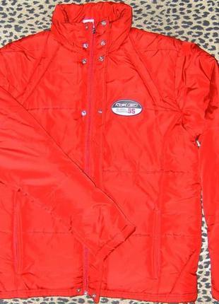 Куртка reebok rbk training padded jacket - m/48-50