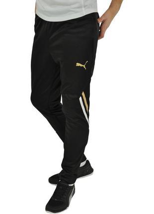 Новые футбольные зауженные штаны puma king - l