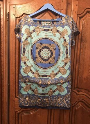 Платье в стиле hermès прямого кроя
