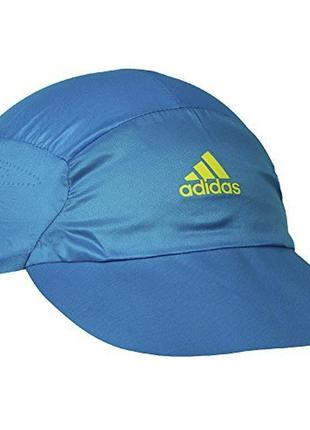 Кепка adidas adizero climacool cap - 3 цвета син. черн.зел.
