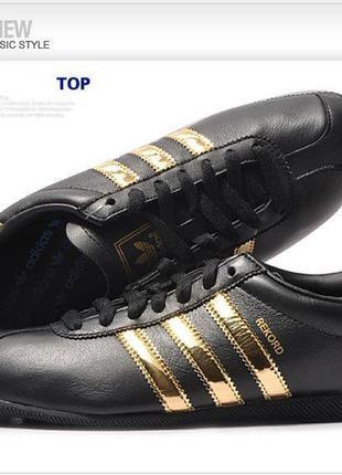 Кроссовки adidas rekord w black-gold р.38,5/25см