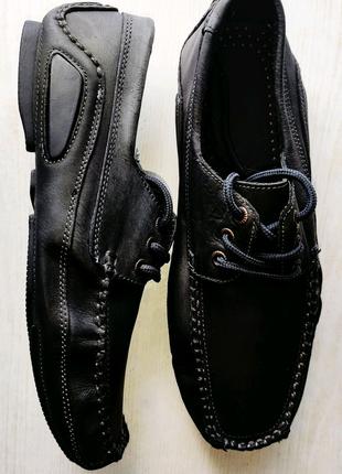 Туфли, мокасины мужские,кожаные,нубук.