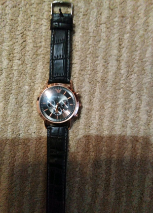 Годинник, копія відомого бренду Emporio Armani