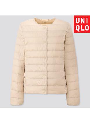 Куртка Uniqlo Пуховик Ультра Лайт Размер XL Форм. V Вырез
