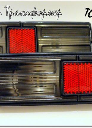 Тонированные задние фонари 2101 с цветными лампами