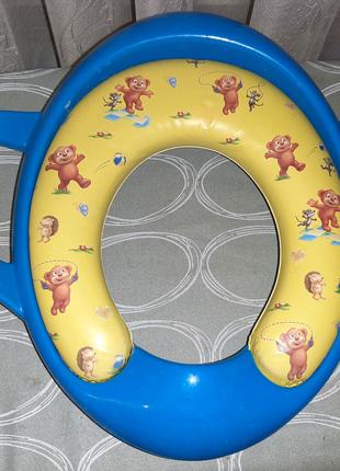 Детское сиденье-накладка для унитаза