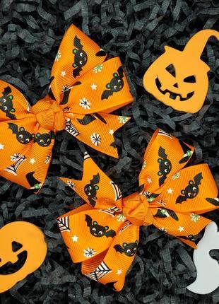 Комплект бантиков на хэллоуин.