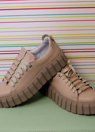 Ботинки  кожаные демисезонные Medium 36-41