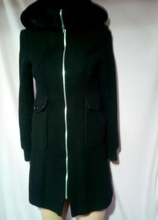 Стильное, молодежное пальто. деми. бренд - tally weijl