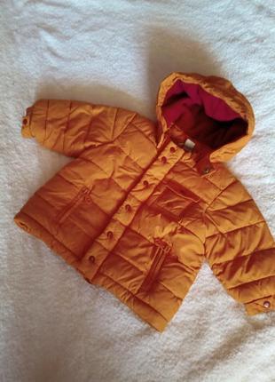 Деми курточка на девочку, h&m